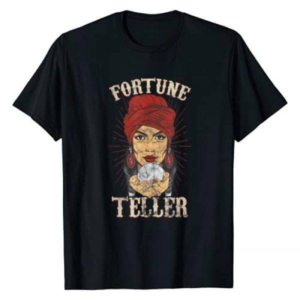 Circus Costume Co. Inc Graphic Tshirt 1 Gypsy Fortune Teller Psychic Shirt - Fortune Teller Costume T-Shirt
