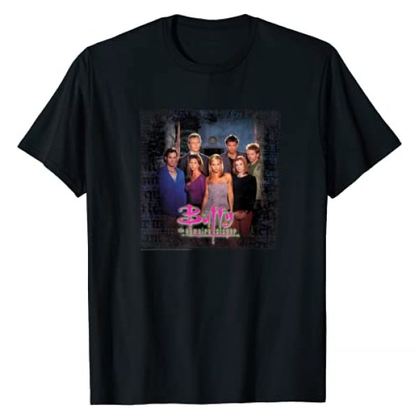 Buffy the Vampire Slayer Graphic Tshirt 1 Buffy Group Shot T-Shirt
