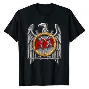 Slayer Official Graphic Tshirt 1 Slayer silver eagle T Shirt T-Shirt