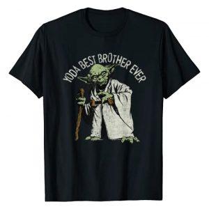 Star Wars Graphic Tshirt 1 Yoda Best Brother Ever Portrait T-Shirt