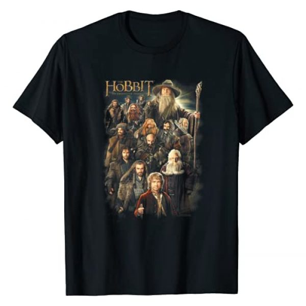 Warner Bros. Graphic Tshirt 1 Hobbit Somber Company T-Shirt