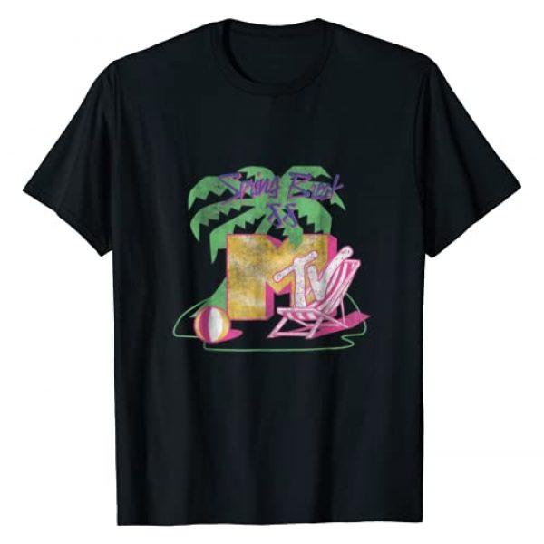 MTV Graphic Tshirt 1 Spring Break 88' Classic Logo T- Shirts
