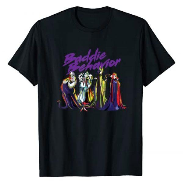 Disney Graphic Tshirt 1 Villains Baddie Behavior T-Shirt