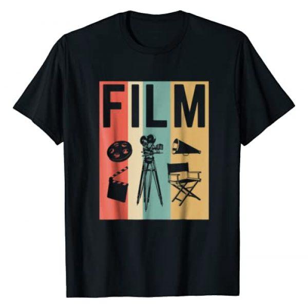Movie Filmmaking Gift Shirt Graphic Tshirt 1 Vintage Film Cinema Shirt, Retro Movie Maker Tee Gift
