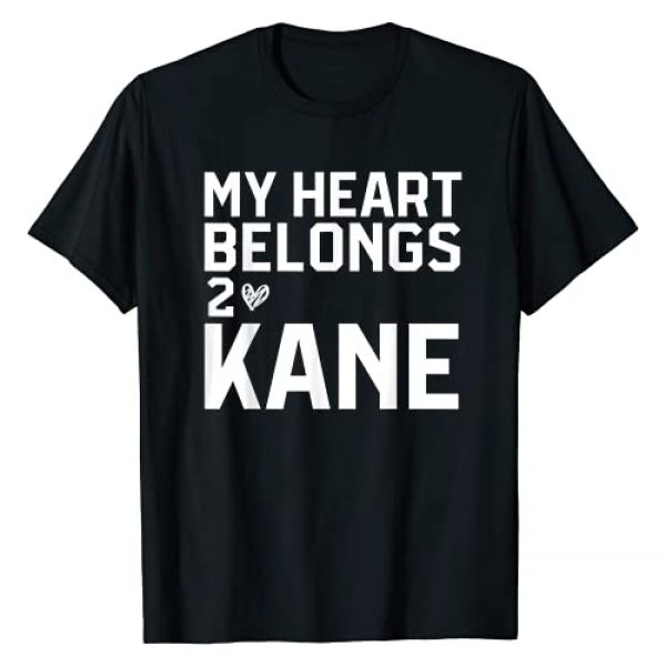 Kane Lover | Country Gifts for Women Girl Heart Graphic Tshirt 1 Kane - My Heart Belongs To Kane - Country Gift for Girls T-Shirt
