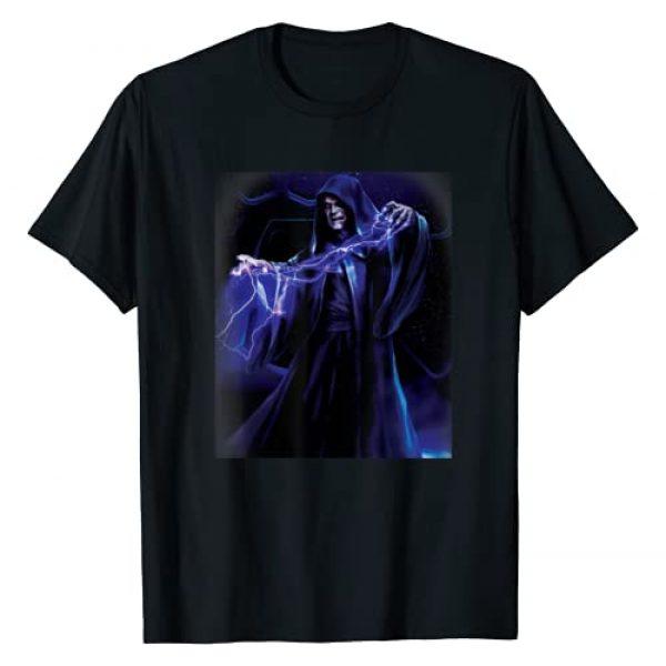 Star Wars Graphic Tshirt 1 Emperor Palpatine Darth Sidious Force Lightning T-Shirt