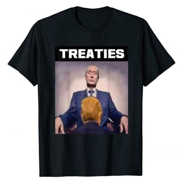 Treaties Graphic Tshirt 1 President Trump And Putin Treaties T-Shirt