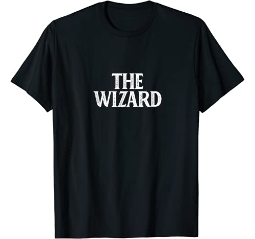 The Wizard - Graphic Tshirt 1 Vintage Style - T-Shirt