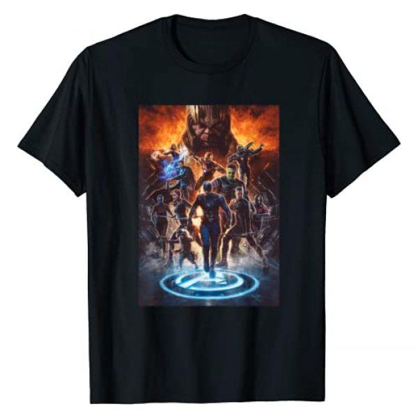 Marvel Graphic Tshirt 1 Avengers: Endgame Earth's Mightiest Heroes T-Shirt