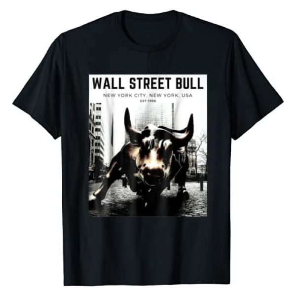 Traders Hustle Graphic Tshirt 1 Wall Street Bull T Shirt, Day Trading Shirt, Stock Market
