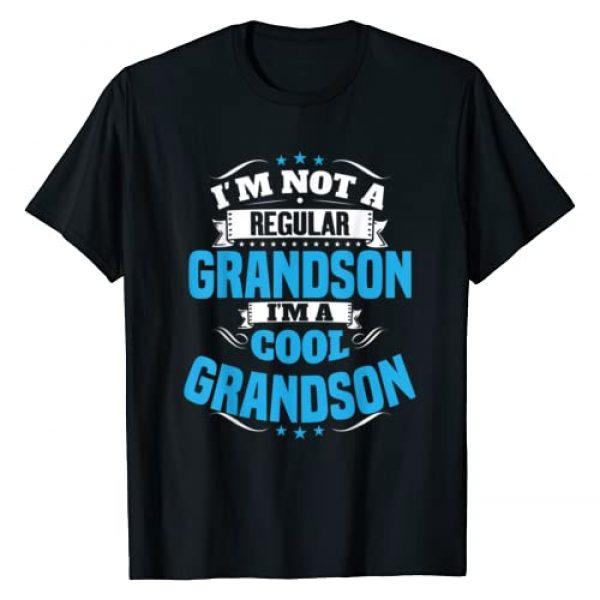 Grandson Tee Gifts Graphic Tshirt 1 I'm Not a Regular Grandson I'm a Cool Grandson T-Shirt
