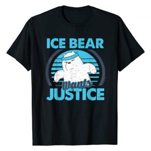 Cartoon Network Graphic Tshirt 1 CN We Bare Bears Ice Bear Wants Justice T-Shirt