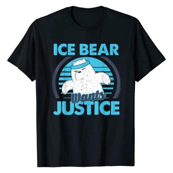 Cartoon Network Graphic Tshirt 1 CN We Bare Bears Ice Bear Wants Justice T-Shirt
