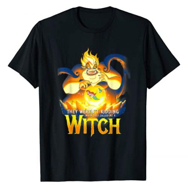 Disney Graphic Tshirt 1 Little Mermaid Ursula Evil Witch Portrait T-Shirt