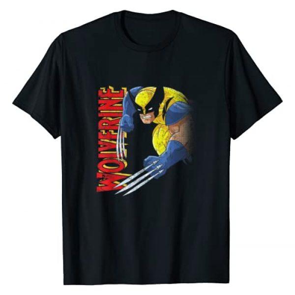 Marvel Graphic Tshirt 1 X-Men Wolverine 90s Animated Series T-Shirt