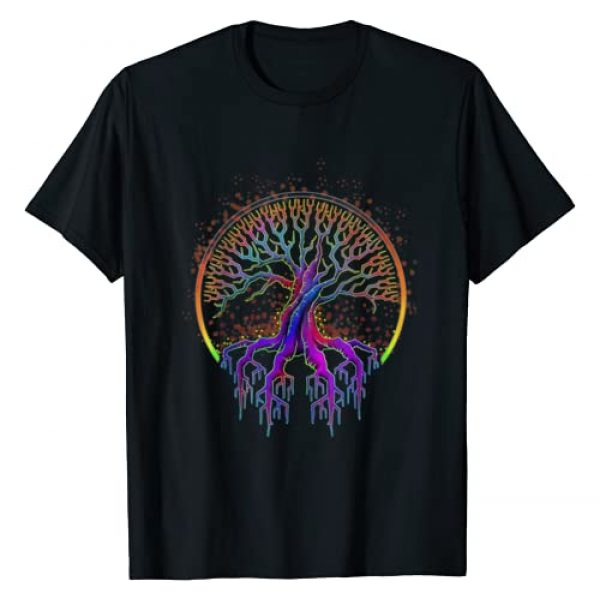 Tree Of Life Celtic Gifts Graphic Tshirt 1 Trippy Tree Of Life Gift The Tree Of Life T-Shirt