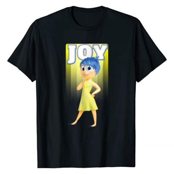 Disney Graphic Tshirt 1 Inside Out Joy Portrait Graphic T-Shirt