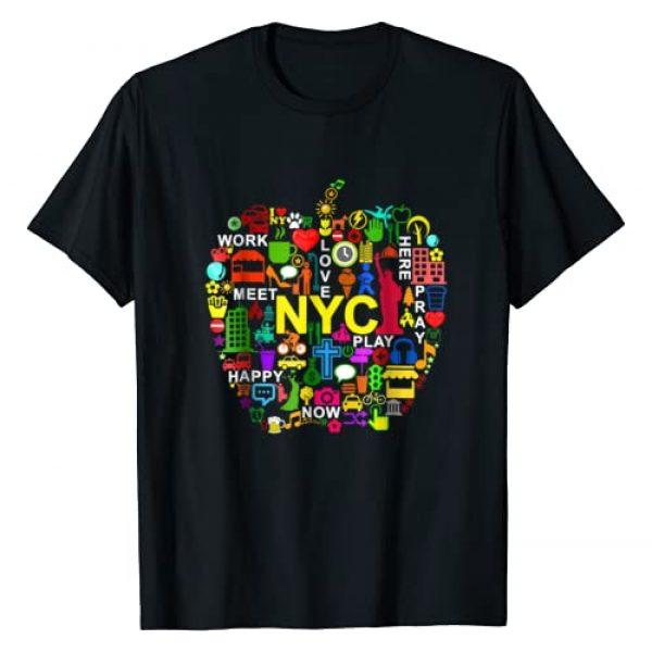 Unknown Graphic Tshirt 1 I LOVE NYC T-Shirts NEW YORK CITY BIG APPLE