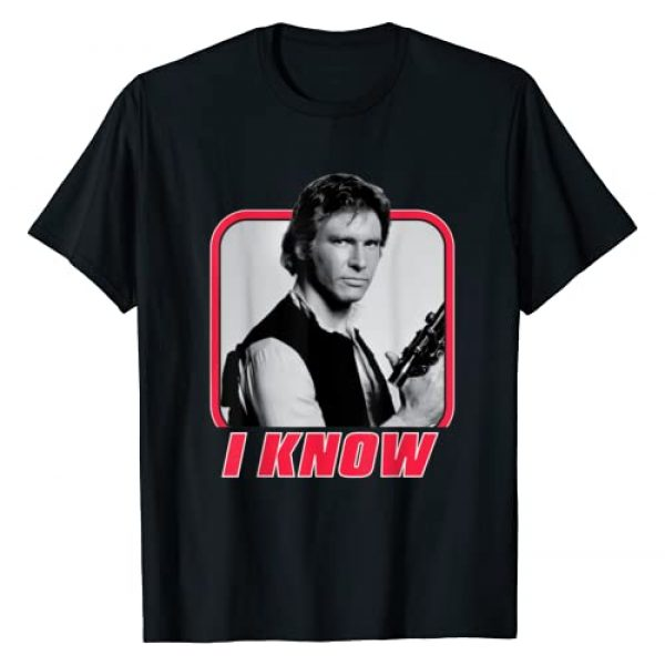 Star Wars Graphic Tshirt 1 Han Solo I Know Valentine's Day T-Shirt
