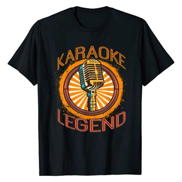 Karaoke Kings and Queens Graphic Tshirt 1 Karaoke Music Gifts | Sing Music Bar Singer Karaoke Legend T-Shirt