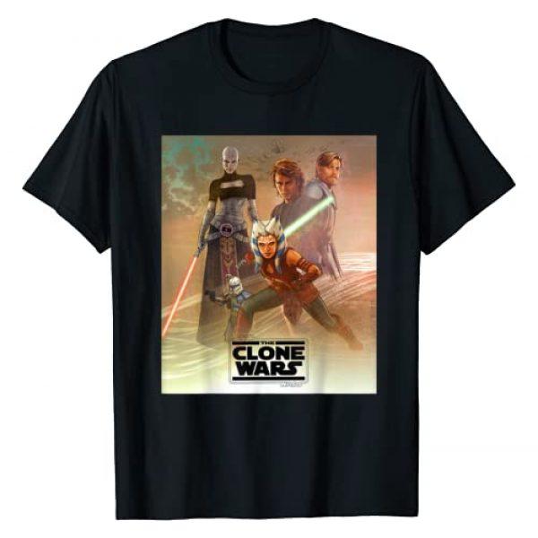 Star Wars Graphic Tshirt 1 Celebration Mural The Clone Wars Logo T-Shirt
