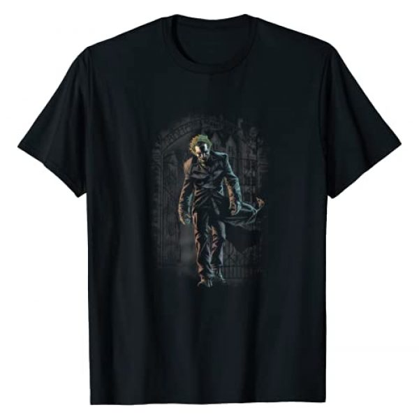 DC Comics Graphic Tshirt 1 Batman Joker Leaves Arkham T-Shirt