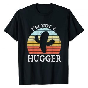 Not A Hugger Co. Graphic Tshirt 1 Not A Hugger Funny Cactus I'm Not A Hugger T-Shirt