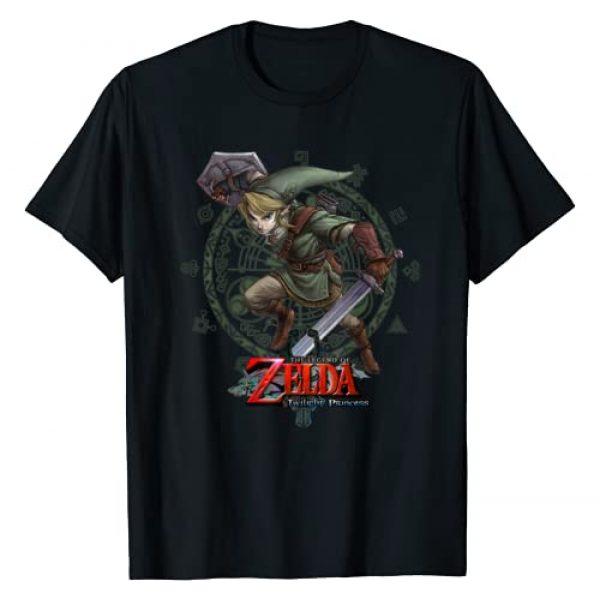 ZELDA Graphic Tshirt 1 Twilight Princess Link Action Pose Logo T-Shirt