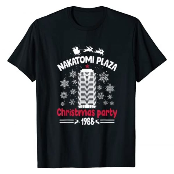 American Team Graphic Tshirt 1 Funny-Nakatomi-Plaza Christmas Party Xmas Gifts Fun Holiday T-Shirt