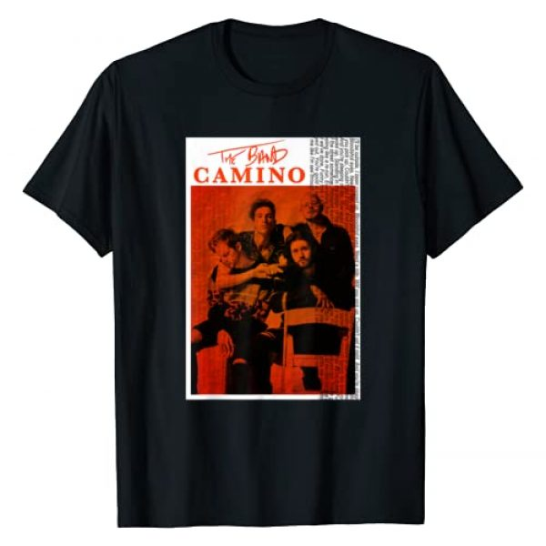 OCEANi Design Graphic Tshirt 1 the see tryhard music band through orange camino poster song T-Shirt