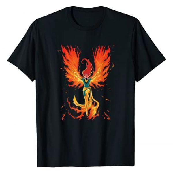 Marvel Graphic Tshirt 1 X-Men Jean Grey Phoenix Cosmic Flames T-Shirt
