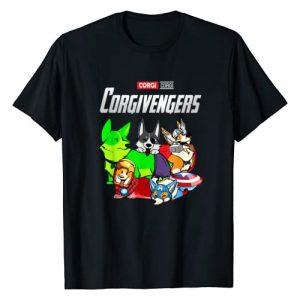 Funny Corgivengers Corgi T-Shirt Graphic Tshirt 1 Corgivengers Corgi T-Shirt Funny Corgi Lovers Gift T-Shirt