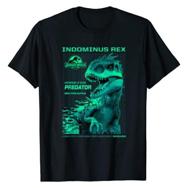 Jurassic World Graphic Tshirt 1 Indominus Rex Hybrid Predator Graphic T-Shirt
