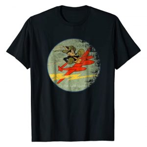 Designed For Flight Graphic Tshirt 1 428th Fighter Squadron WWII Vintage Patch Design T-Shirt