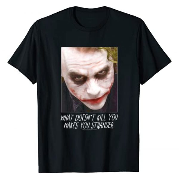 DC Comics Graphic Tshirt 1 Batman Dark Knight Joker Stranger T-Shirt
