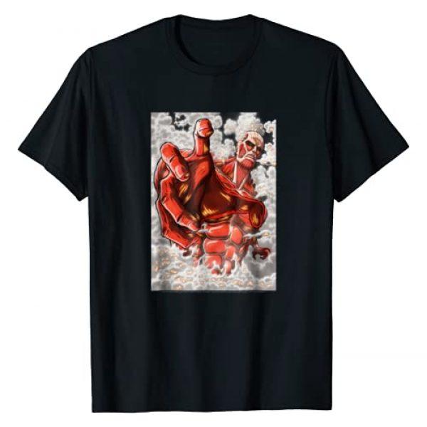 Attack on Titan Graphic Tshirt 1 Season 2 Reaching Colossal Titan T-shirt