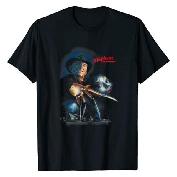Warner Bros. Graphic Tshirt 1 Nightmare on Elm Street Elm Street Poster T Shirt