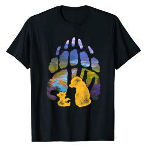 Disney Graphic Tshirt 1 Brother Bear Kenai Koda Paw Silhouette T-Shirt