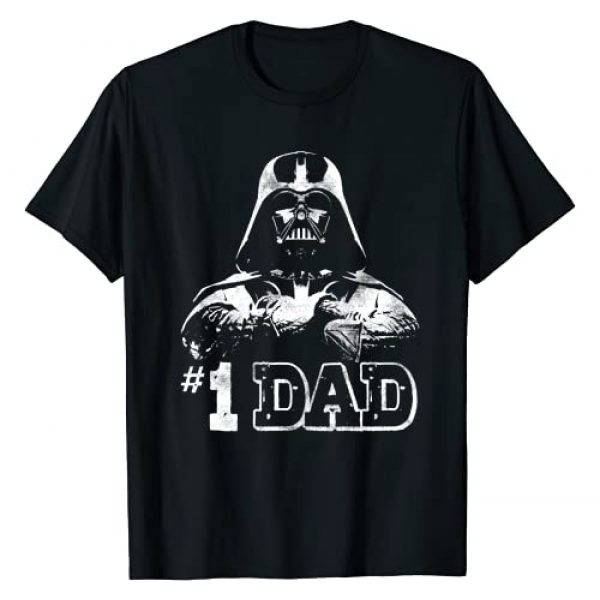 Star Wars Graphic Tshirt 1 Vader #1 Dad Vintage Father's Day Graphic T-Shirt