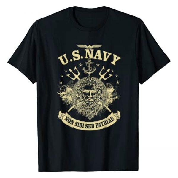Amatees Graphic Tshirt 1 Vintage T-Shirt U.S. Navy Non Sibi Sed Patriae