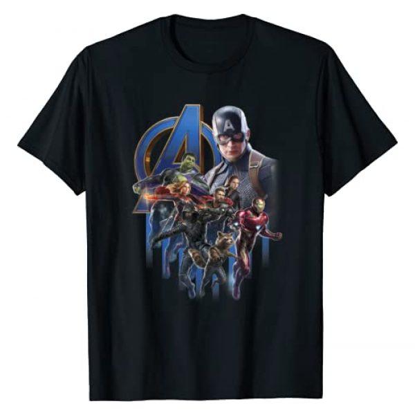 Marvel Graphic Tshirt 1 Avengers Endgame Group Poster Logo Graphic T-Shirt
