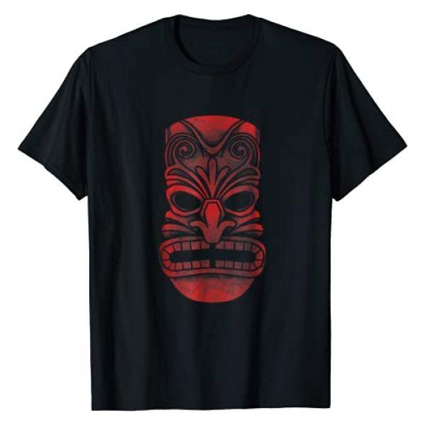 Hawaii Tiki Vibes Tees Graphic Tshirt 1 Retro Tiki T-Shirt Hawaiian Vacation Luau Tiki Hawaii Tee