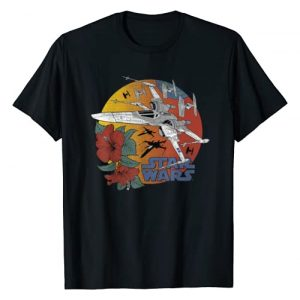 STAR WARS Graphic Tshirt 1 The Rise of Skywalker Tropical X-Wing T-Shirt