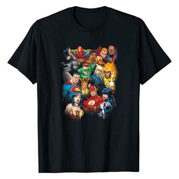 DC Comics Graphic Tshirt 1 Justice League The Leagues All Here T-Shirt