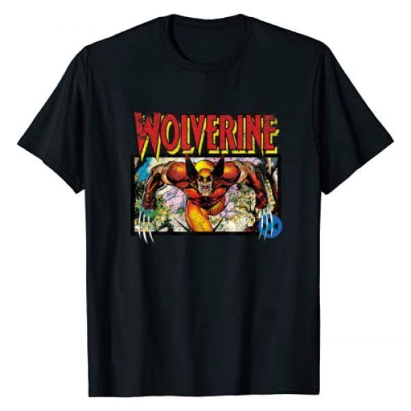 Marvel Graphic Tshirt 1 X-Men Retro Wolverine 90s T-Shirt