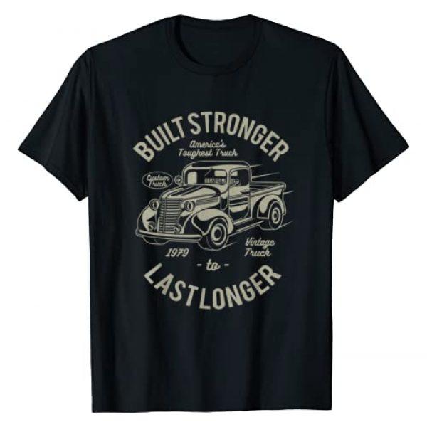 Car Junkie Shirts Graphic Tshirt 1 Vintage Truck T-shirt (car guy shirt)