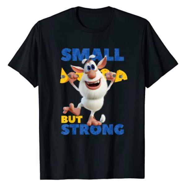 Booba Graphic Tshirt 1 Small But Strong Little Children Boys Girls Gift T-Shirt