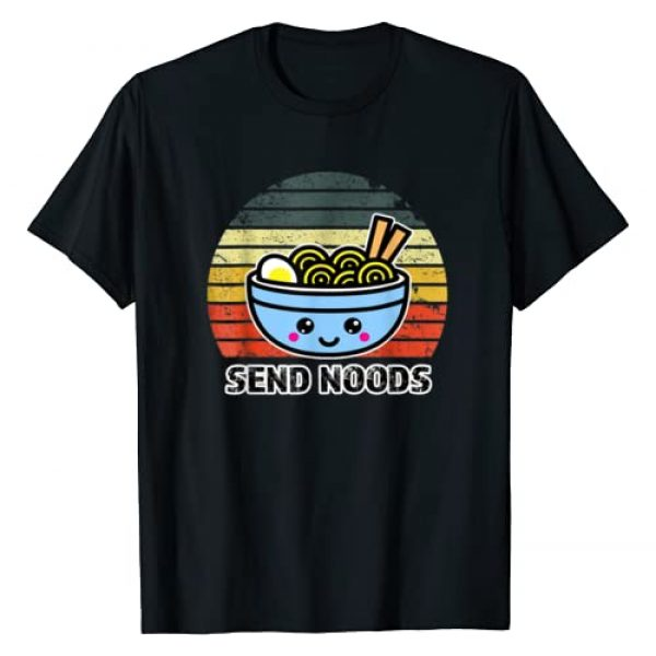 Send Noods Ramen Japanese Anime Noodle Bowl Fun Graphic Tshirt 1 Send Noods Tee Funny Great Ramen Noodle Bowl Gift T-Shirt