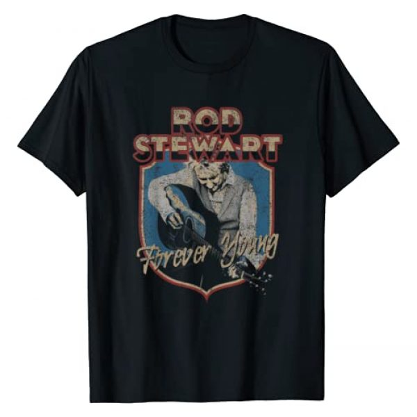 Rod Stewart Graphic Tshirt 1 Forever Young T-Shirt