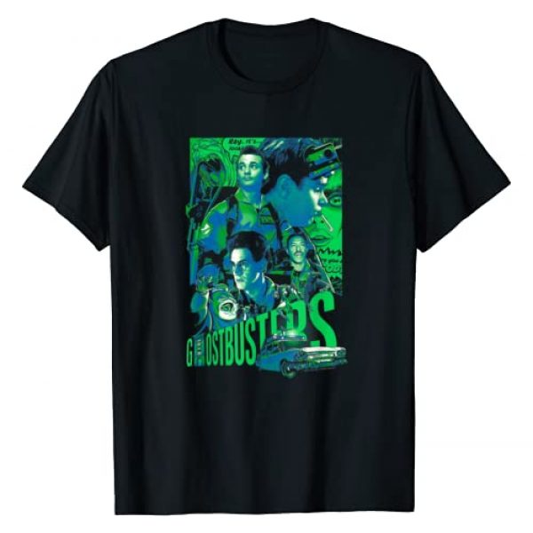 Ghostbusters Graphic Tshirt 1 Joshua Budich Illustrated Poster